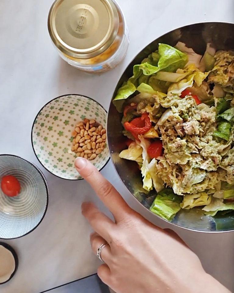 Salata sa tunjevinom i avokadom